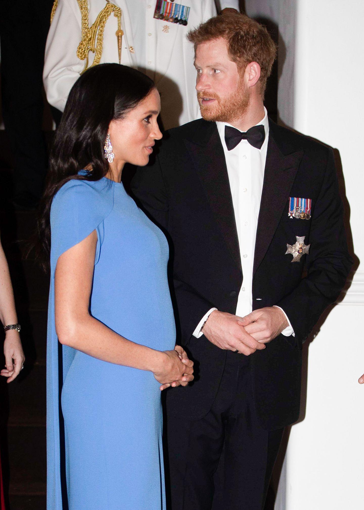 Meghan Markle Schwangerschaftslooks: Meghan Markle und Prinz Harry