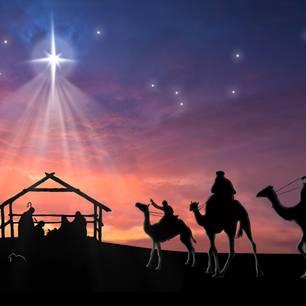 Warum feiern wir Weihnachten: Heilige 3 Könige reiten zur Krippe