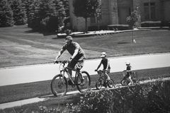Papas in Aktion: Radtour