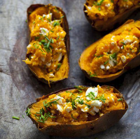 Ofen-Süßkartoffeln
