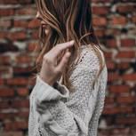 Blonde Roast: Frau mit blonden Haaren