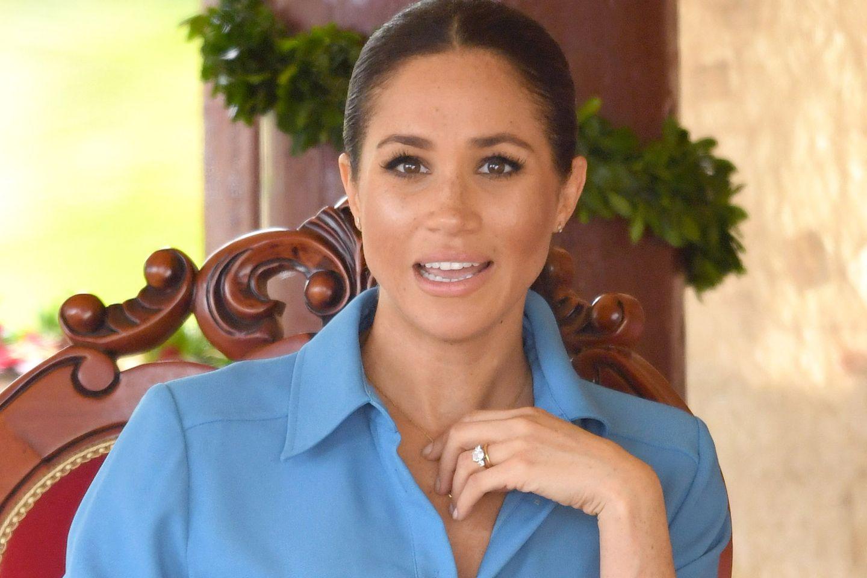 Herzogin Meghan: Ihr Vater soll darüber nachdenken, sie zu verklagen, wenn er das Royal Baby nicht sehen darf