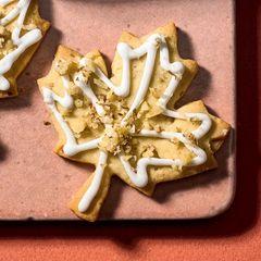 Kanadische Maple Cookies (Ahornplätzchen)