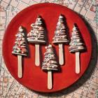Amerikanische Christmastree-Cake-Pops