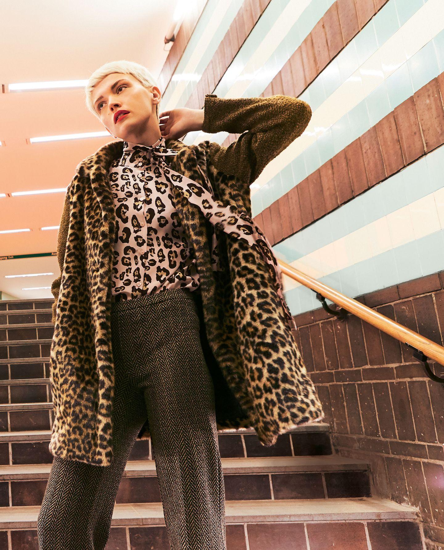 Fake Fur News: Leo-Mantel und Blus