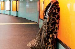 Mixekatze: Komplettes Leopard-Outfit