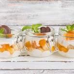 Aprikosen-Trifle