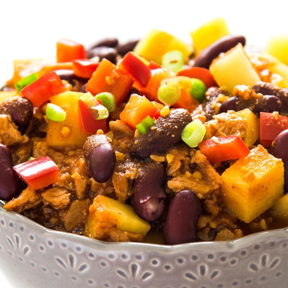 Chili con Carne mit Tofu