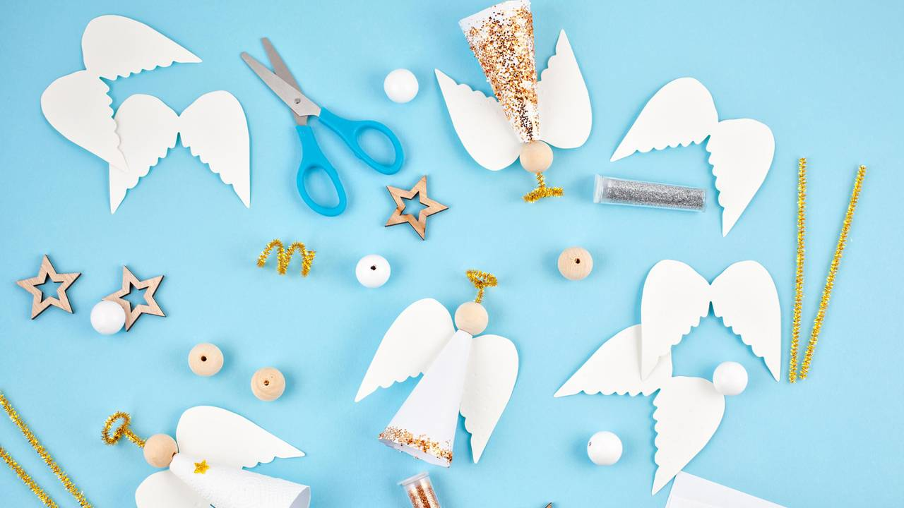 Engel Basteln Die Schönsten Ideen Und Anleitungen Brigittede