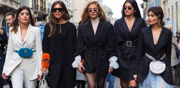Trends, die Männer hassen: Fünf Frauen mit modischen Outfits