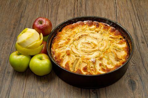 Schlupf-Apfelkuchen