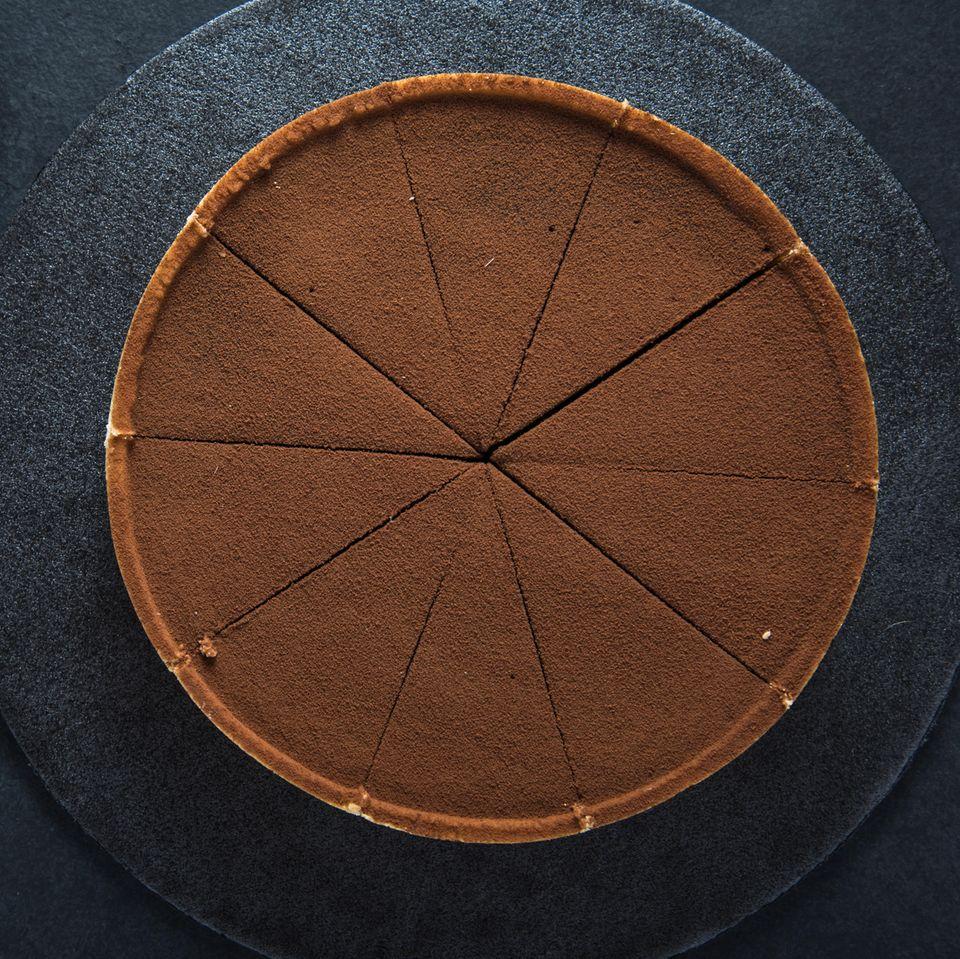 Italienische Schokoladentarte
