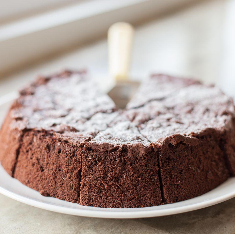 Schokoladen-Brombeer-Kuchen