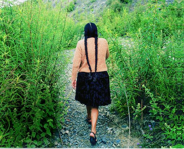 Wenn sie Zeit dazu findet, sucht Casimira Rodriguez den Kontakt mit Pachamama, der Mutter Erde.