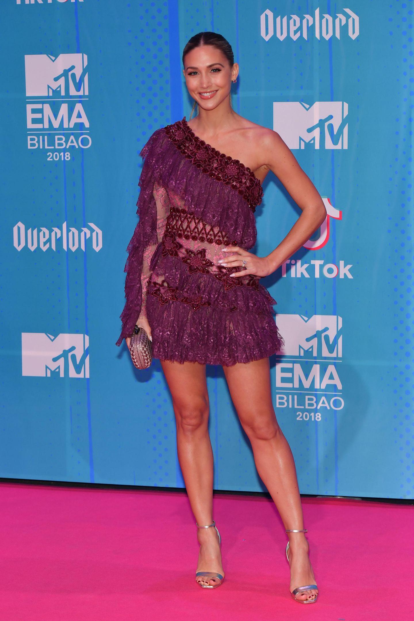 MTV EMA 2018: Ann-Kathrin Götze auf dem Red Carpet
