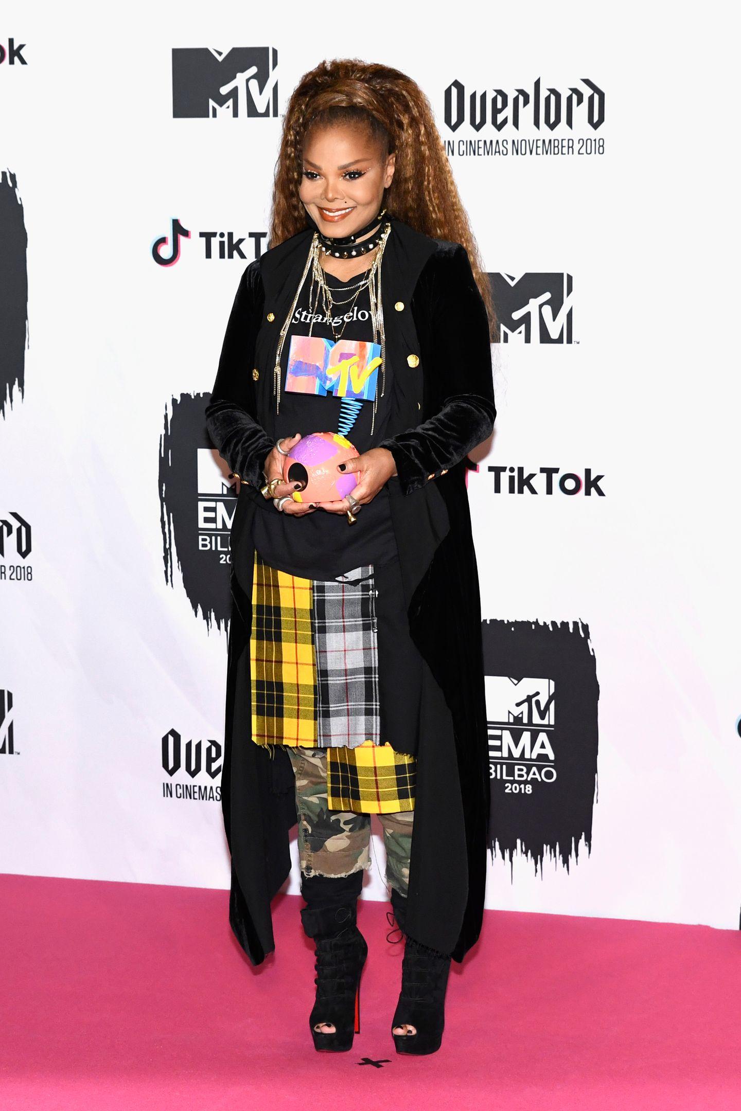 MTV EMA 2018: Janet Jackson