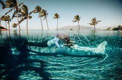 Hochzeitsfoto aus Hawaii
