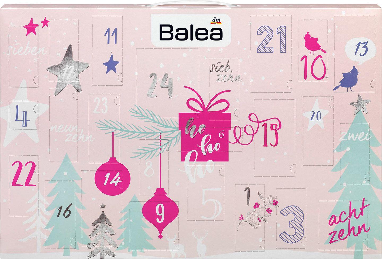 Die schönsten Beauty-Adventskalender: Balea Adventskalender