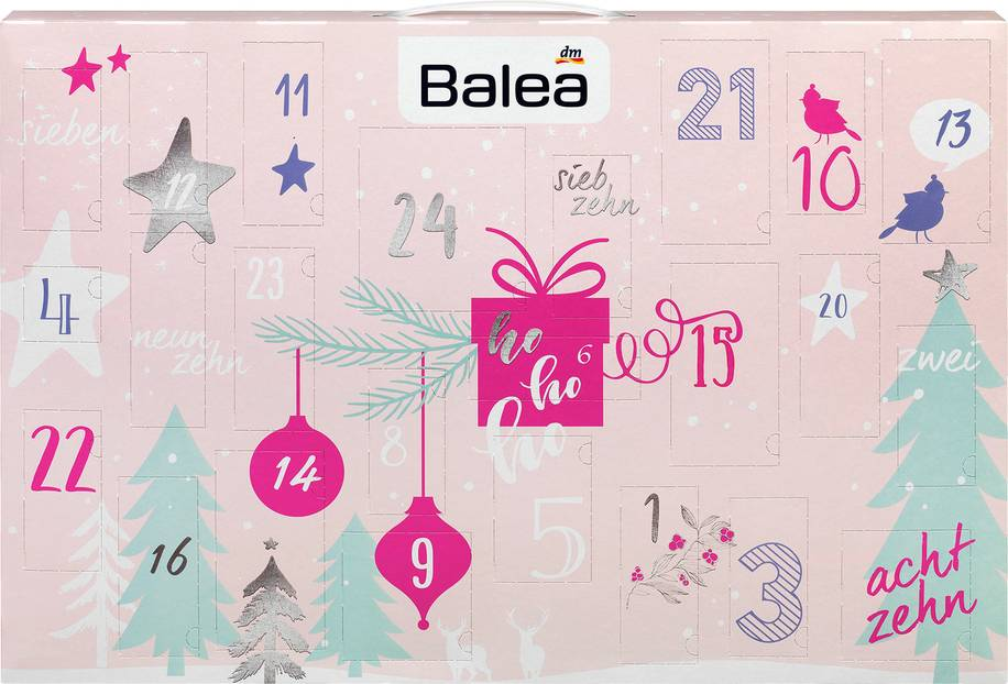Die schönsten Beauty-Adventskalender: Balea Adventskalender