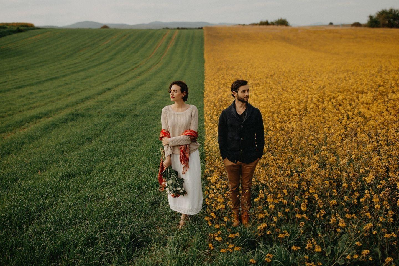 Hochzeitsfoto vom Rhein