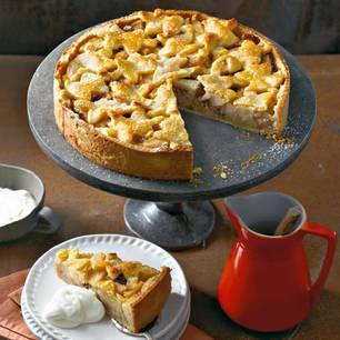 Birnen-Pecannuss-Pie
