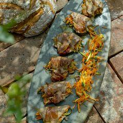 Saltimbocca mit Gemüse