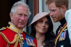 Prinz Charles: Hier im Gespräch mit Prinz Harry und Herzogin Meghan