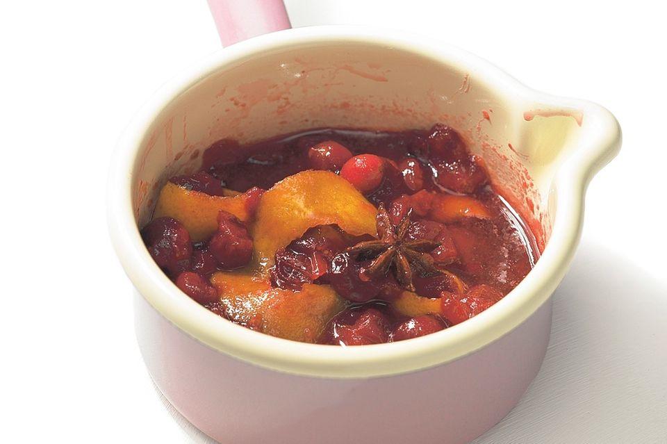 Cranberry-Soße selber machen