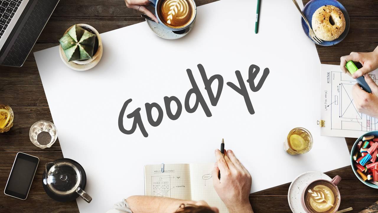 Abschied Kollegin Gebührend Verabschieden Brigitte De