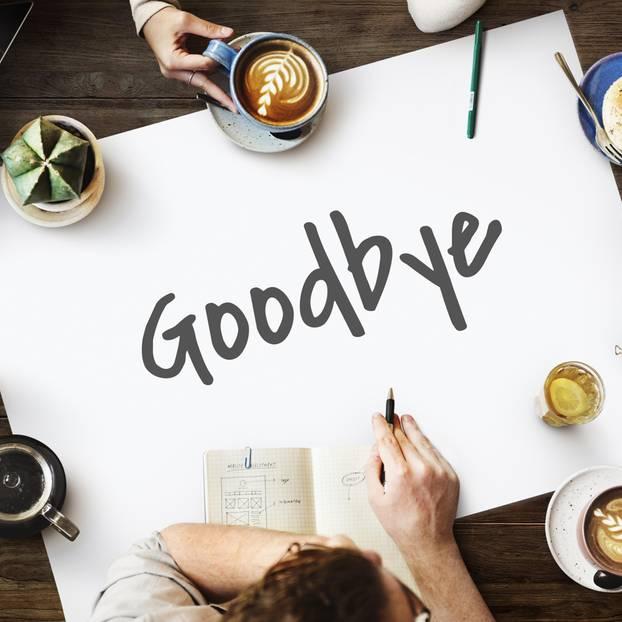 Abschied Kollegin Gebührend Verabschieden Brigittede