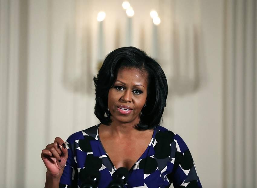 Michelle Obama ist kämpferisch