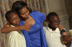 Michelle Obama ist humorvoll
