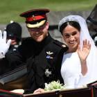 Herzogin Meghan und Prinz Harry: Hier strahlen sie bei der Kutschfahrt am Tag ihrer Hochzeit