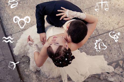 Drei Sternzeichen, die 2019 heiraten werden