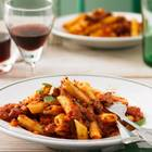 Penne-Nudeln mit Wild-Bolognese