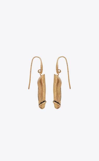 Verrückte Modetrends: Penis-Ohrringe