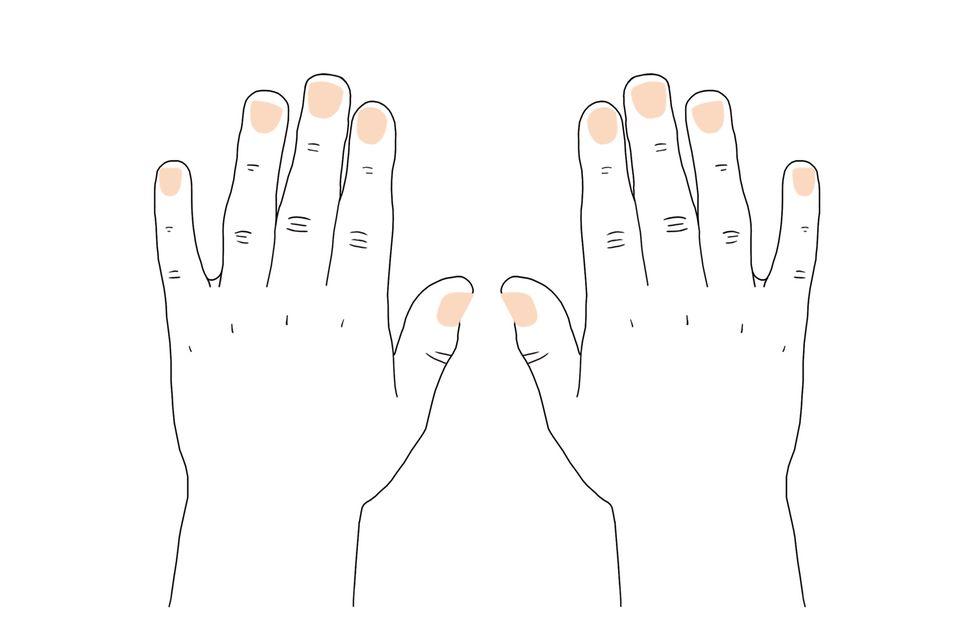 Handdiagnose: Was Handpaare über Partnerschaft verraten