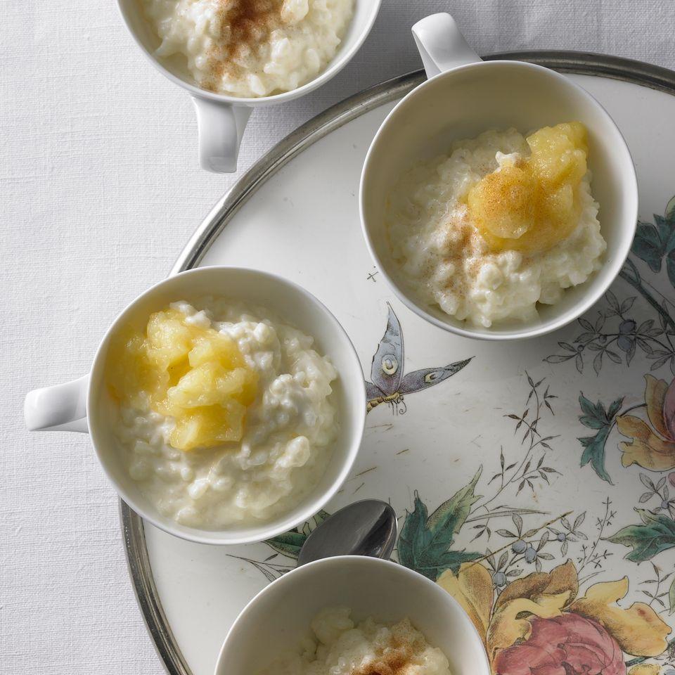 Milchreis mit Zitrone