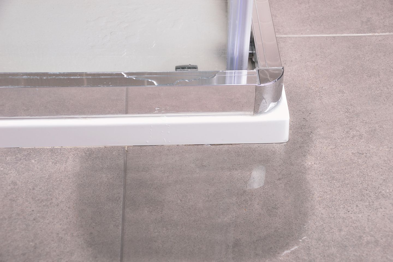 Dusche abdichten: Wasser läuft aus Dusche