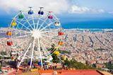 Barcelona mit Kindern: Tibidabo-Park