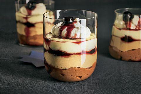 Winter-Desserts: Schoko-Mokka-Vanille-Flammeri