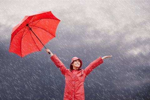 Humor ist der Regenschirm der Weisen