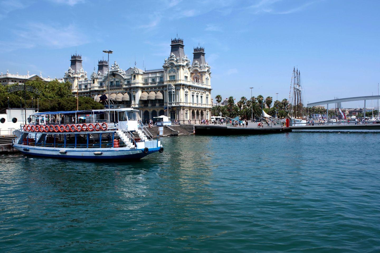 Barcelona mit Kindern: Hafen- oder Küstenrundfahrt