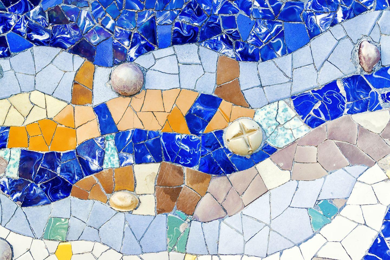 Barcelona mit Kindern: Mosaikkurs