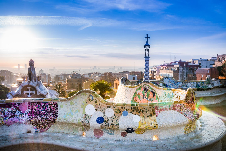 Barcelona mit Kindern: Park Güell