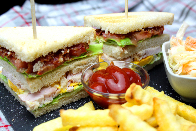 Chicken Club Sandwich | BRIGITTE.de