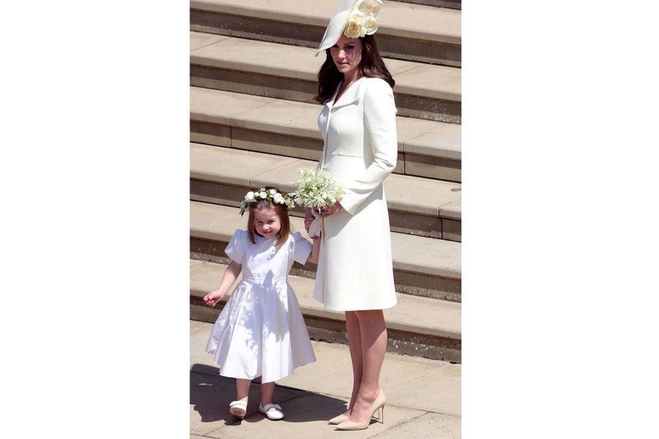 Herzogin Kate: Mit Tochter Charlotte am Tag der Hochzeit