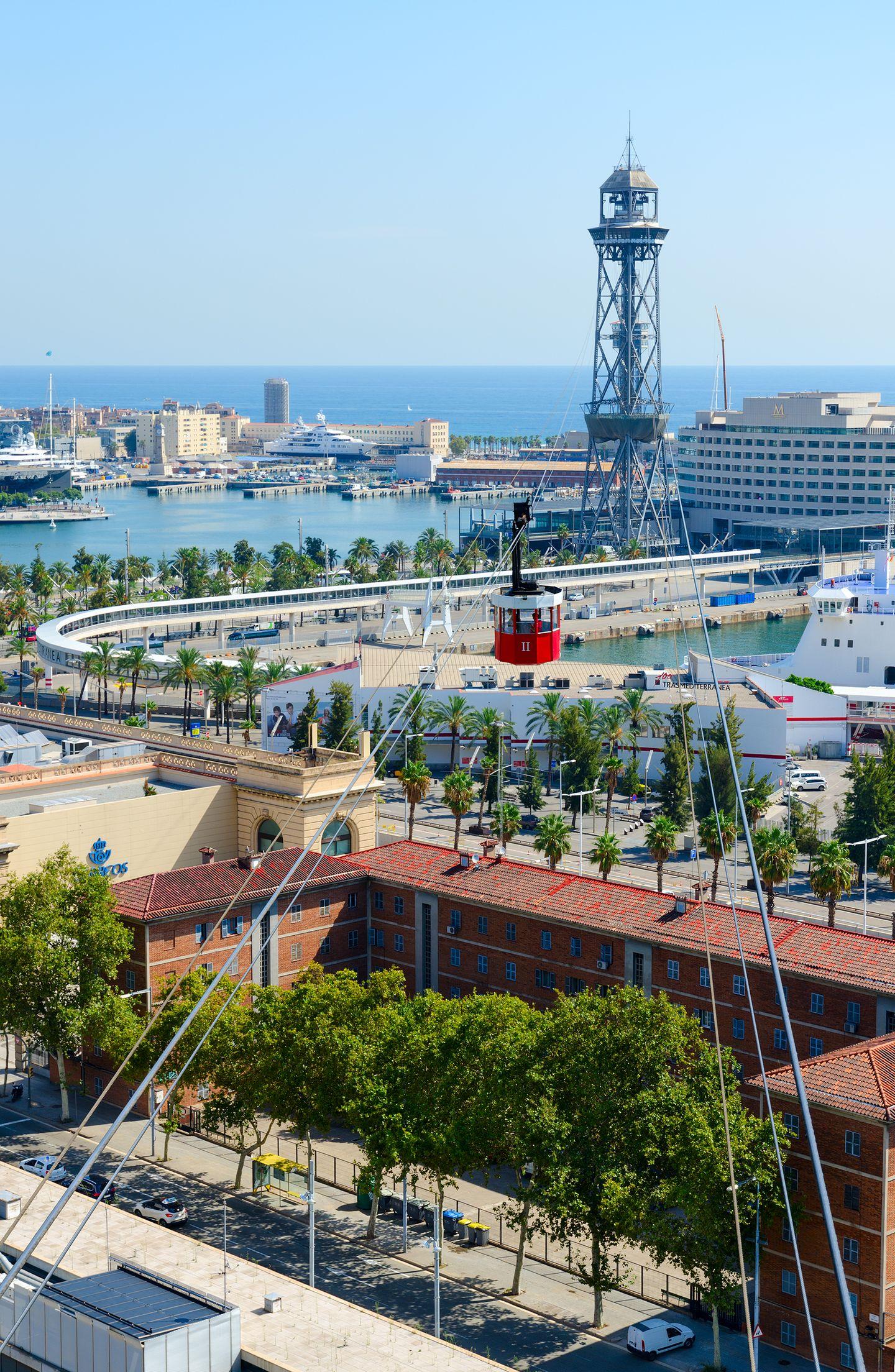 Barcelona mit Kindern: Die Seilbahnen