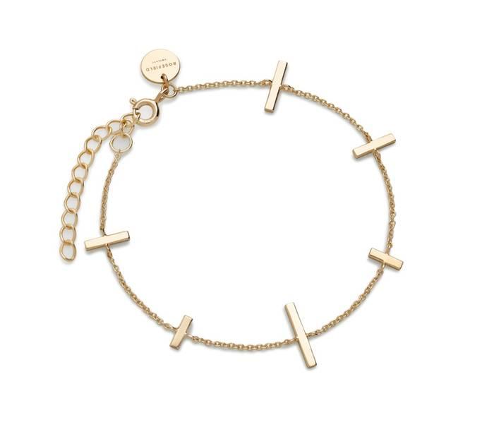 Weihnachtsgeschenke, die teurer aussehen, als sie sind: Rosefield Armband