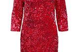 Festliche Kleider: Rotes Pailletten-Kleid von Vila